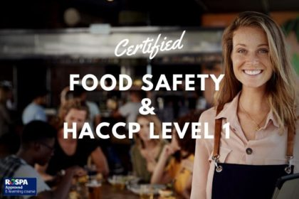 HACCP Online Training