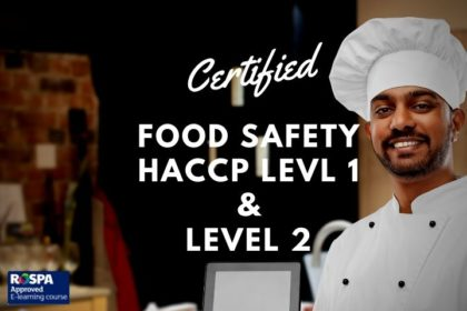food safety haccp 1 and 2