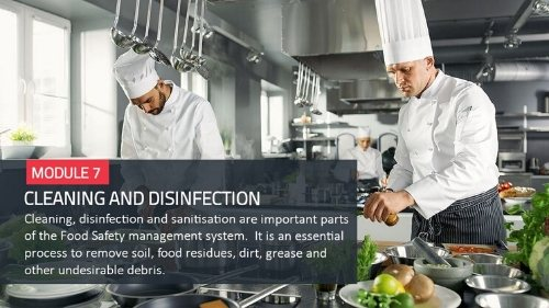 Food Safety HACCP level 3 training