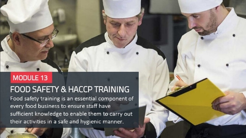 FOOD SAFETY & HACCP TRAINING
