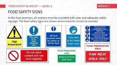irish haccp training